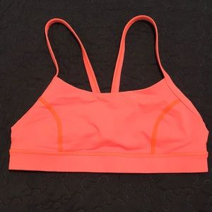 Lululemon Pink Sports Bra Size 6